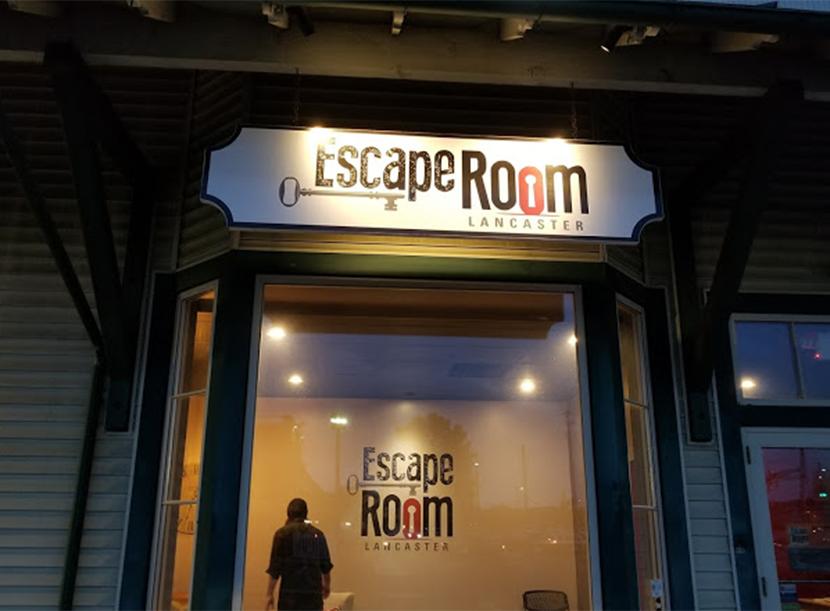 Exterior view of Escape Room Lancaster