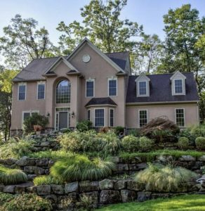 Homes in the Woods of Roundtop community are beautiful and unique, with picturesque views.