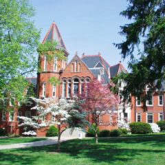 With it's beautiful landscaping and architecture, Millersville University's campus is a great place to take a walk.