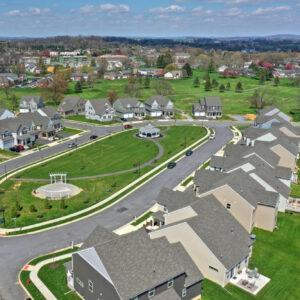 Photo of an aerial view of the Worthington neighborhood.